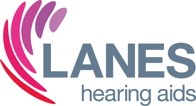 The Lanes Hearing logo.