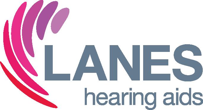 The Lanes Hearing logo.