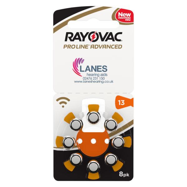 Rayovac Proline Advanced Batteries - Size 13