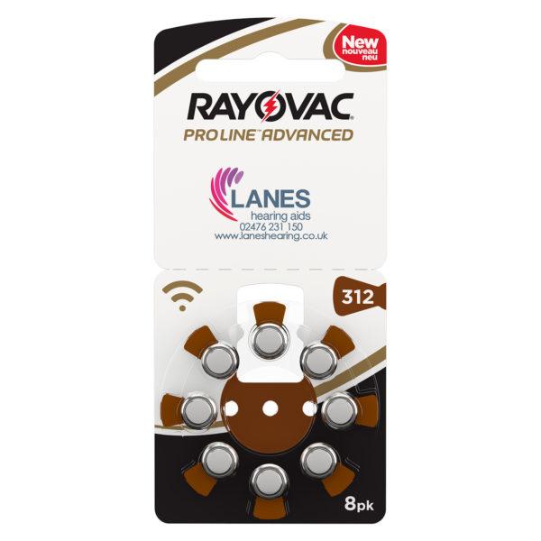 Rayovac Proline Advanced Batteries - Size 312