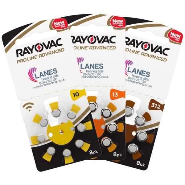 Rayovac Hearing Aid Batteries - Size 10, 13, 312
